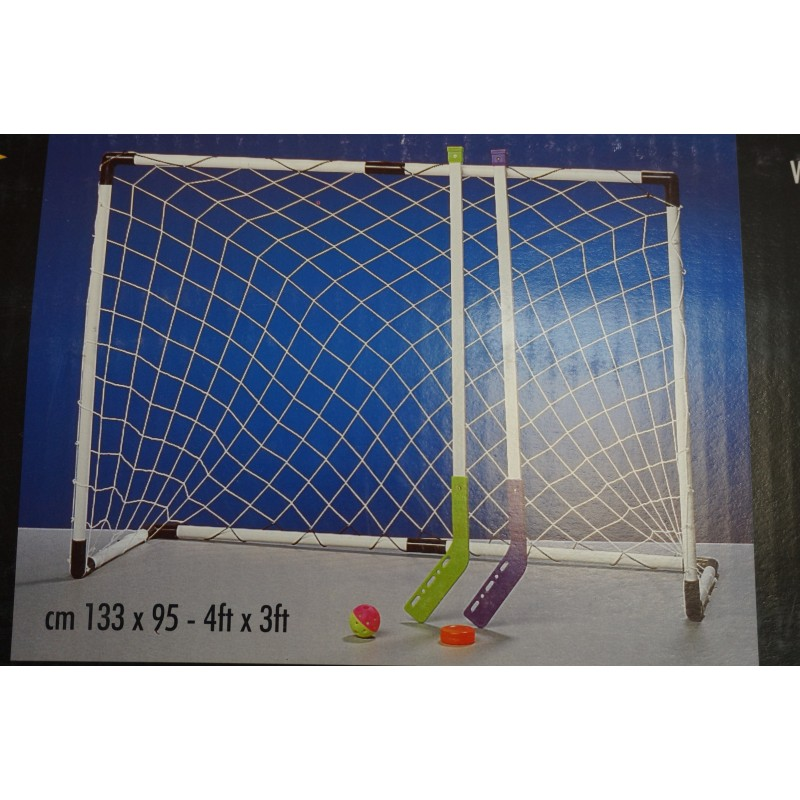 Set street hockey 2 cages + 4 crosses + palets Plein air 21,17 €