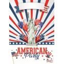 Affiche American Party 42 x 29.7 cm Décoration 2,48 €