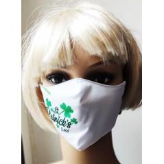 Masque protection tissu St Patrick Accueil 4,70 €