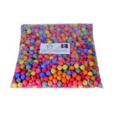 Boules dancing multicolores (sachet de 500)
