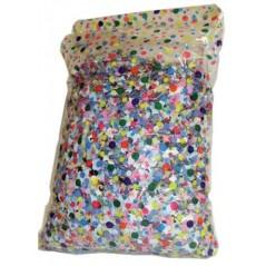 Sac10 KG confettis multicolores