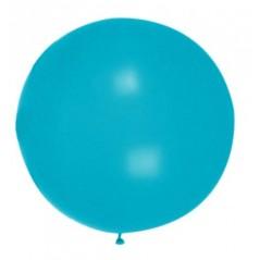 Ballon uni diam. 90 cm Bleu l'unité