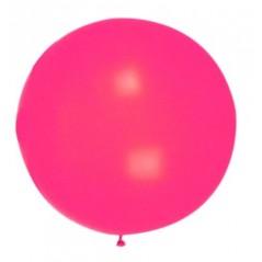 Ballon uni diam 90 cm Rose L'unité